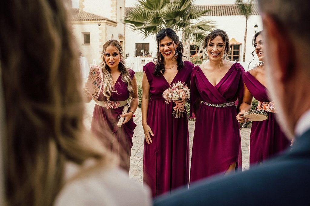 Boda en el Arenoso Sevilla Boda en el Arenoso Sevilla (First Look damas de honor)