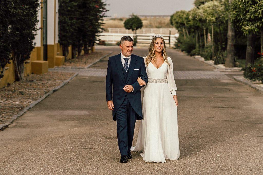 Boda en el Arenoso Sevilla (Entrada de la novia)
