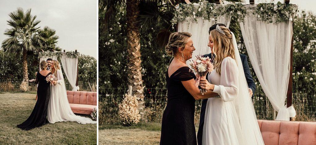 Boda en el Arenoso Sevilla (La novia y su madre)