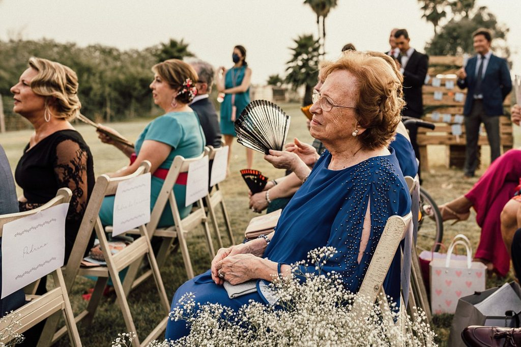 Boda en el Arenoso Sevilla (Los abuelos en las bodas)