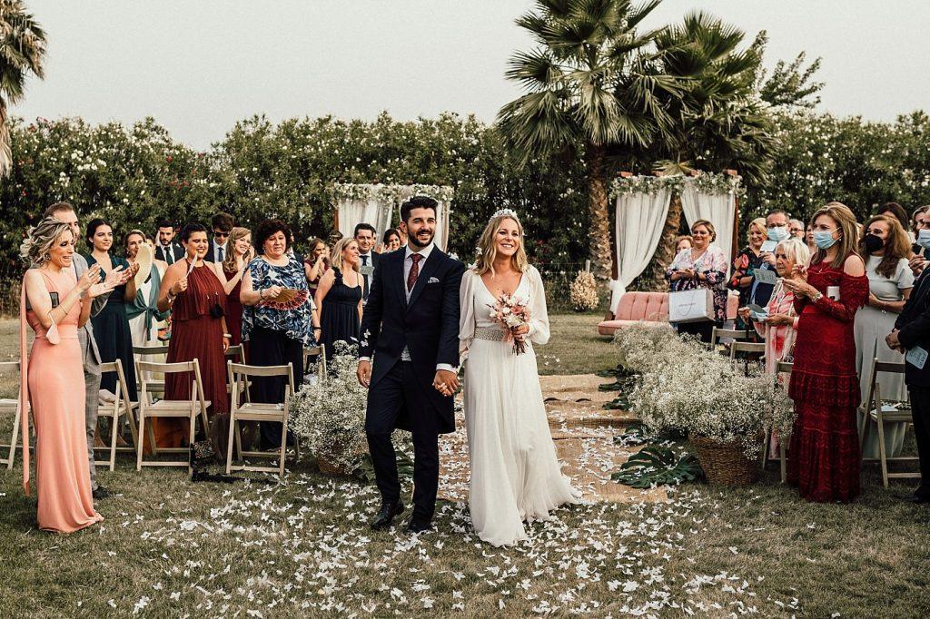 Boda en el Arenoso Sevilla (Recien casados)
