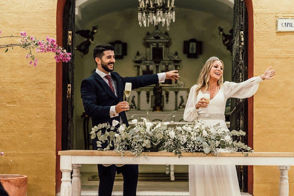 Boda en el Arenoso Sevilla (Brindis Recien Casados)
