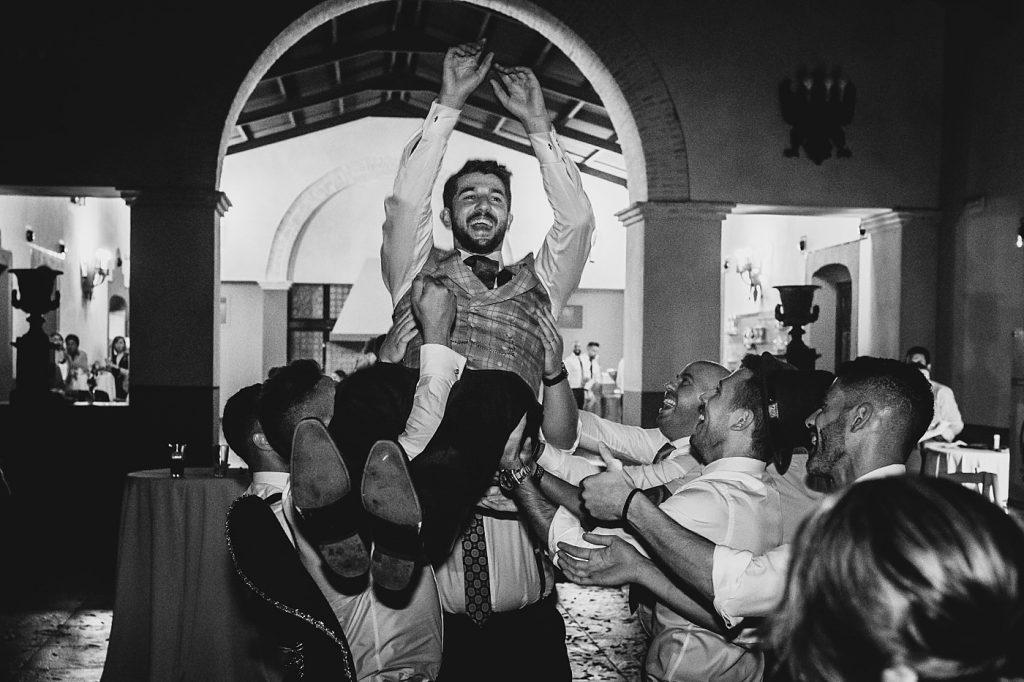 Boda en el Arenoso Sevilla (La fiesta)
