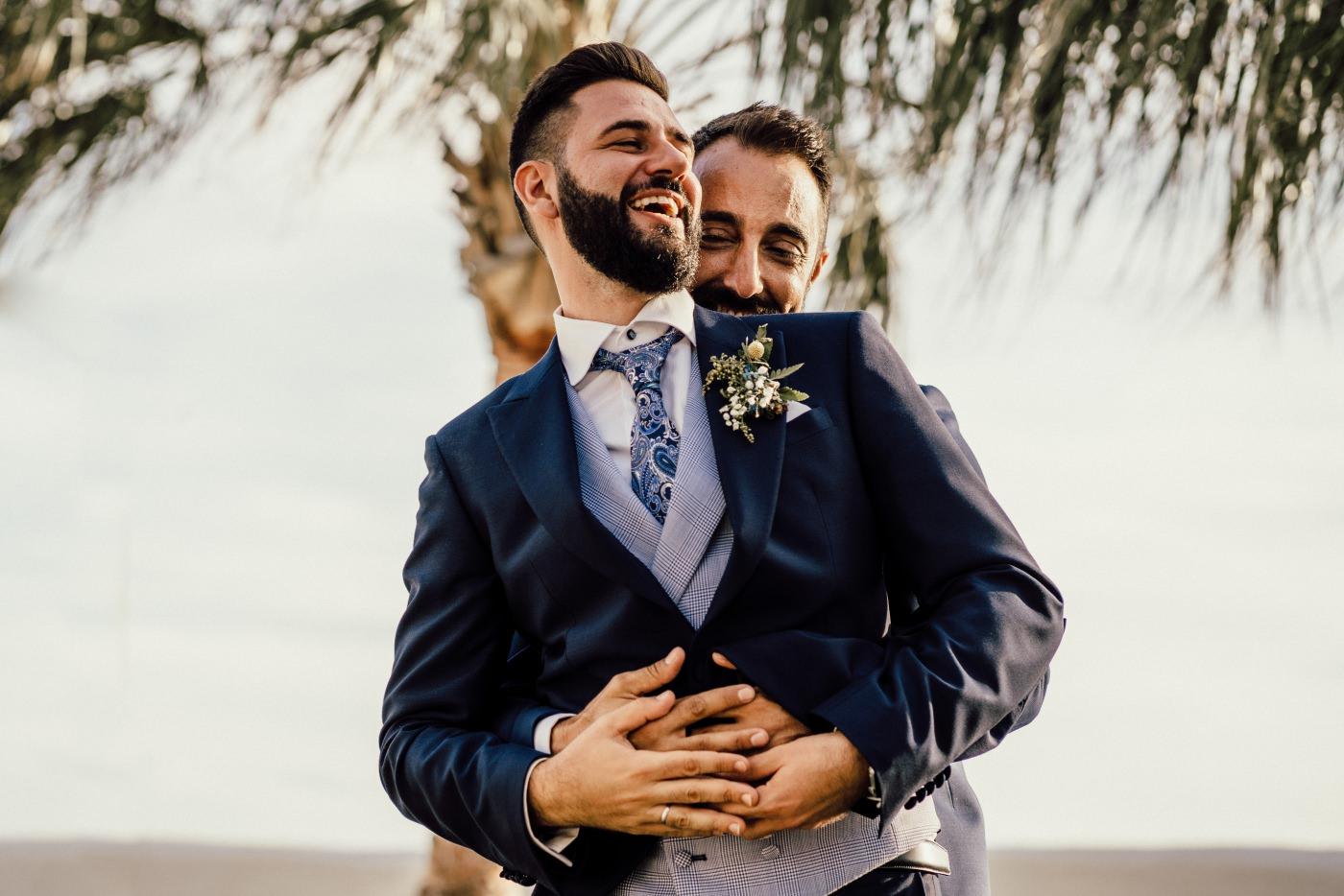 Fotografos en una boda gay