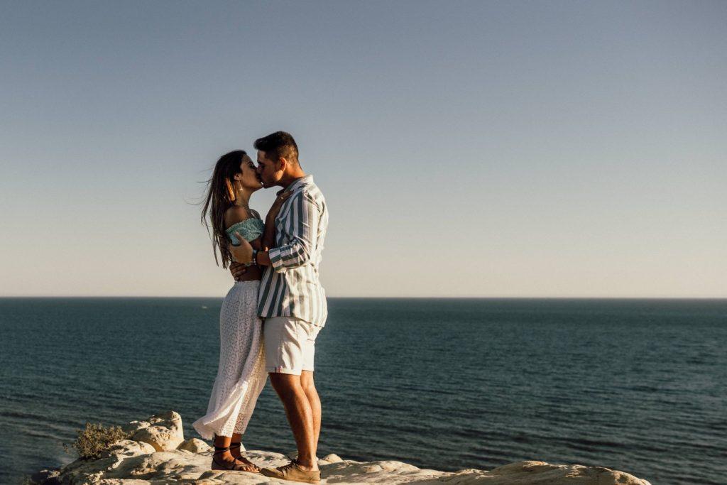 Fotos de pareja en la playa 11