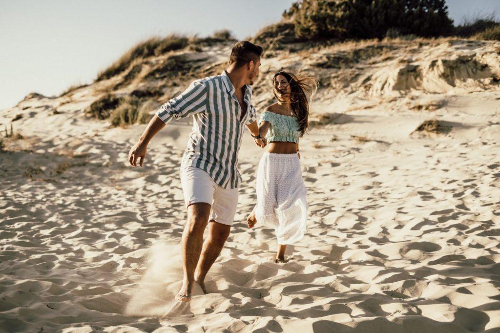 Fotos de pareja en la playa 17