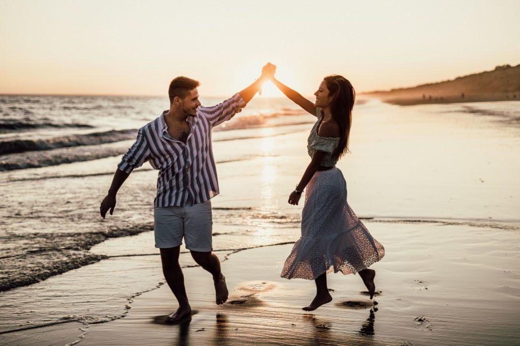 Fotos de pareja en la playa 26
