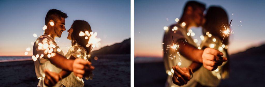 Fotos de pareja en la playa 40