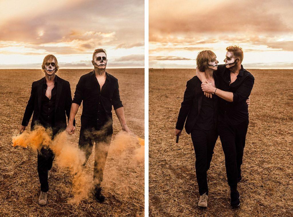 Halloween gay couple 2