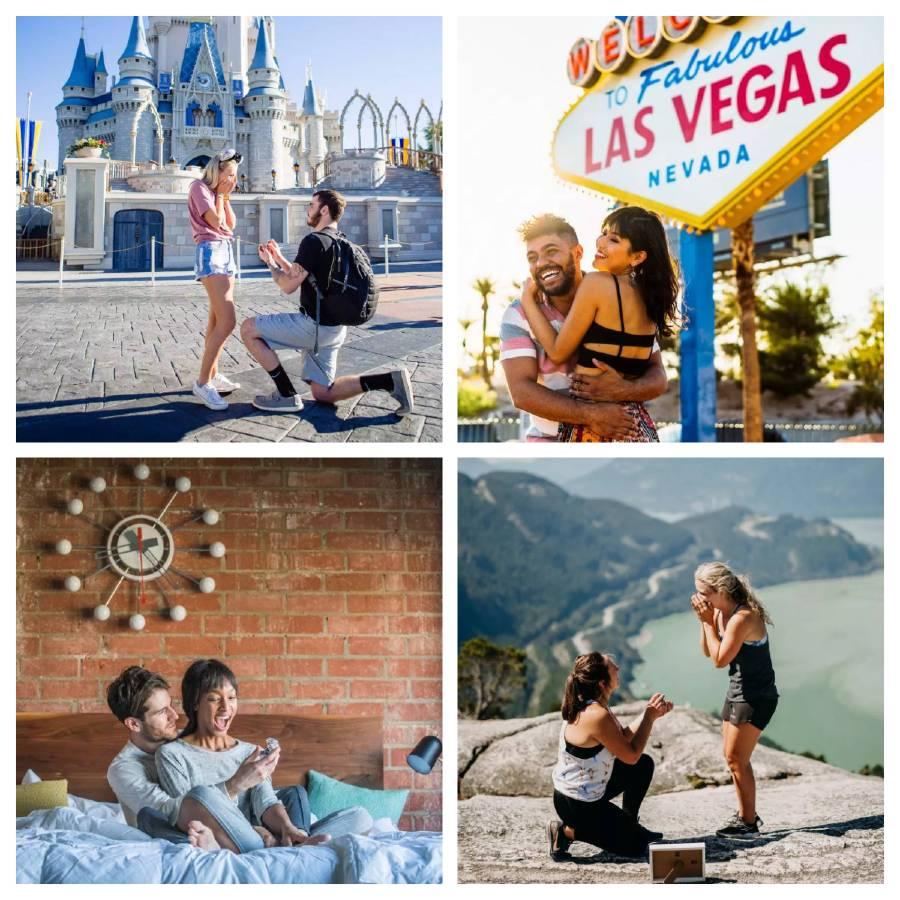 pedir matrimonio de viaje